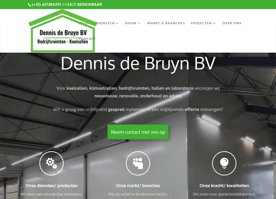 Website Dennis de Bruyn BV